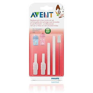 Phillips Avent Straw Replacement Brush Set - 12 oz