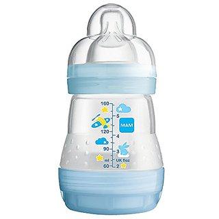 MAM Anti-Colic Bottle, Boy,  5 Ounces, 1-Count