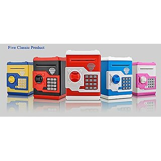 Money Safe Kids Piggy Savings Bank with Electronic Lock