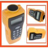 Ultrasonic Distance Meter With Laser Point Measure Distance Up To 15m