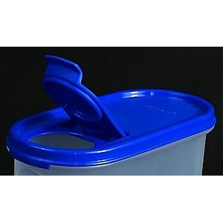 Tupperware MM Oval 2 with fliptop seal (Blue) (4)