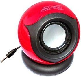 vsquare hs656 Portable Mobile/Tablet Speaker  (Red, 3.1 Channel)