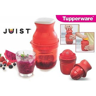 Tupperware JUST Polypropylene Hand Juicer(Pack of 1)(Red)