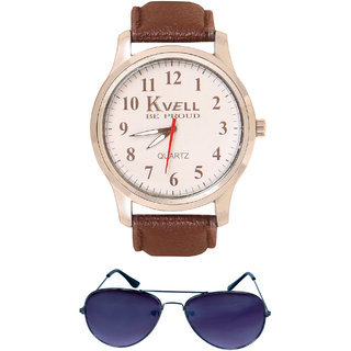 KVELL Men's Watch with Wallet  Combos-UMW-1224