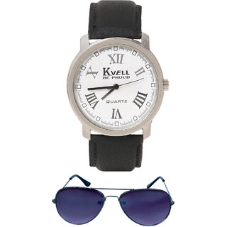 KVELL Men's Watch with Wallet  Combos-UMW-1237
