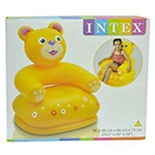 Infatable teddy bear chair