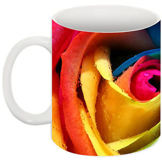 Abha Gaurav Creations Fine Printed Coffee Mug