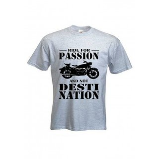 Printed Ride 4 Passion - T Shirt