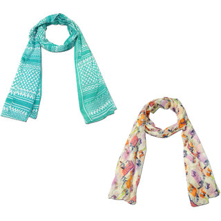 URBAN-TRENDZ Assorted Scarves in set of 2pcs UT1480SCF
