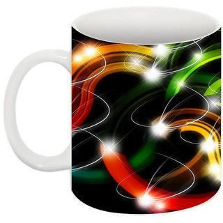 Abha Gaurav Creations Fine Printed Coffee Mug