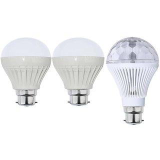 sprkl perfect lighting combo of 3 led light bulbs