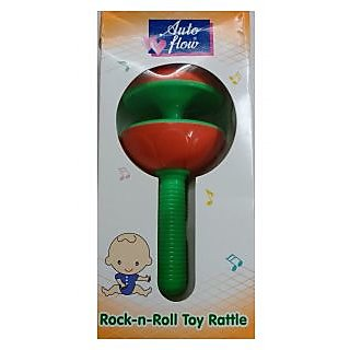 Auto Flow Rattle Toy - Rock-N-Roll - BT23 Green