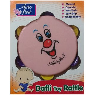 Auto Flow Rattle Toy- Dafli Toy - BT26 Pink