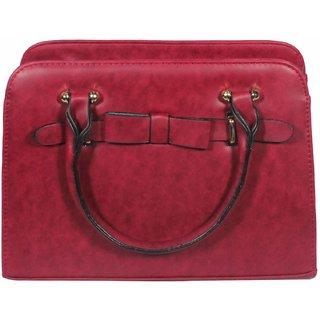 BagsHub Maroon Fashion Bag (B0680-0000100046-V0014)