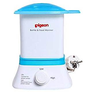Pigeon Bottle And Baby Food Warmer (White/Blue)