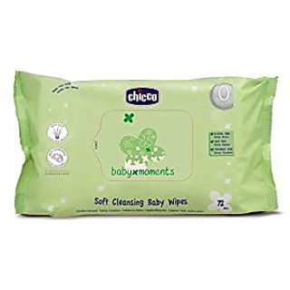 Chicco Cleansing Wipes (72 Pieces)