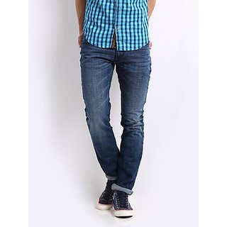 Men Blue Camaro Skinny Fit Jeans