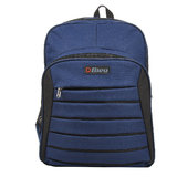 Amazing Blue & Black Color School Bag (Large, 16 Inches)
