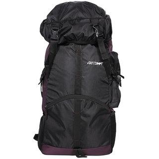 Justcraf Rocky Black and Dark Purple Trekking