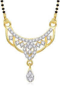 Vk Jewels Refined Gold Plated Mangalsutra Pendant - Mp1258G [Vkmp1258G]