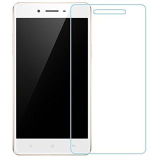 SNOOGG PACK OF 2 OPPO F1 (Gold, 3GB) Full Body Tempered Glass Screen Protector [ Full Body Edge to Edge ] [ Anti Scratch ] [ 2.5D Round Edge] [HD View]  White