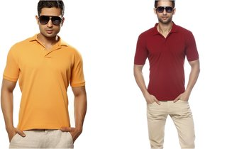 Gritstones Polo Combo Pack Men's T-Shirt