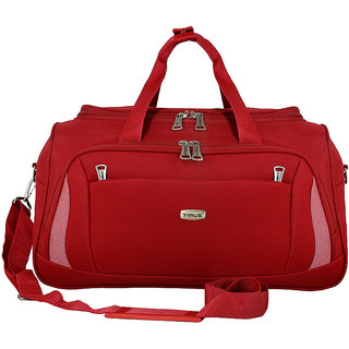 Morocco Plus 55 Cm Red Duffle For Travel