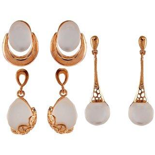9blings Combo 3 Pair Of Earrings