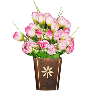 Sky Trends Artificial Flower Pot For Home Decoration Style Cod019