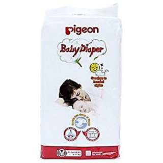 Pigeon Baby Diaper Medium Size (40 Pieces)