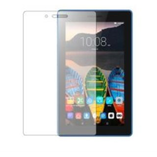 SNOOGG PACK OF 6 Lenovo tab 3 A710F Tablet(7 inch, 8GB,Wi-Fi Only), Ebony Black Premium Tempered Glass Screen Protector [ 2.5D Round Edge ] [ Easy Install ] [Anti Scratch ] [ HD ] - Protect your screen from Scratches & Drops - Maximize your resale value -