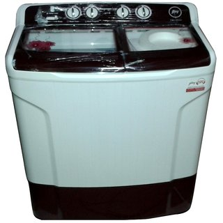 Godrej 7 Kg Top Loading Semi Automatic Washing Machine  WS 700CT, Wine Red