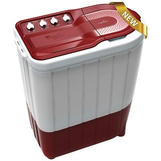 Whirlpool 6.2 Kg Superb Atom 62S Semi Automatic Top Load Washing Machine Ruby
