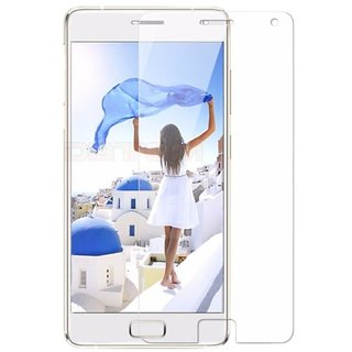 SNOOGG PACK OF 3 Lenovo Vibe K5 (Gold, 16GB), Lenovo Vibe K5 Plus The Best clear Tempered Screen Glass Guard