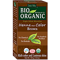 Indus Valley BIO Organic Brown Henna Hair Color