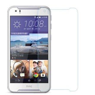SNOOGG PACK OF 6 HTC Desire 830 Dual Sim - Black Gold Anti-Glare Anti-Scratch Anti-Fingerprint Clear Screen Guard