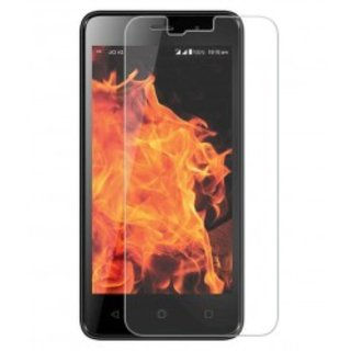 SNOOGG PACK OF 7 LYF FLAME 7 Black Tempered Glass Screen Guard / Screen Protector ExPLLosion Proof