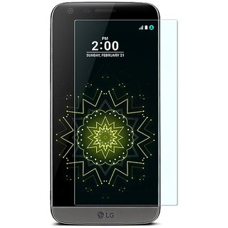 SNOOGG LG G5 TITAN TITAN Clear Screen Guard Toughened Glass