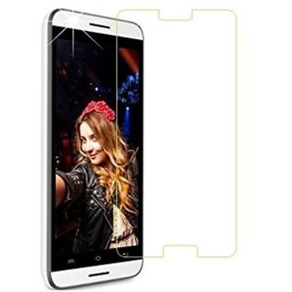 SNOOGG Lava A67 (Grey) Branded Ultra Clear Perfect Fitting Mobile Screen Guard Screen Protector