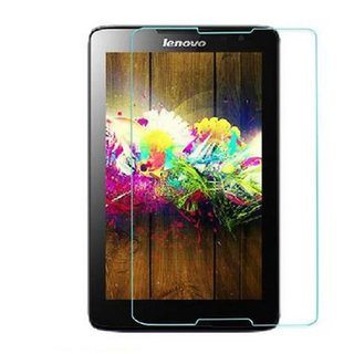 SNOOGG PACK OF 9 Lenovo IdeaTab A3000, Lenovo A3000 3G IDEATAB Quad Core 7 Inch 16GB Android 4.2 Tablet Clear Screen Guard Toughened Glass
