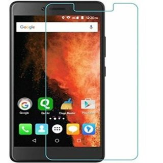SNOOGG PACK OF 3 LYF WIND 5 1GB RAM 8GB ROM Branded Ultra Clear Perfect Fitting Mobile Screen Guard Screen Protector