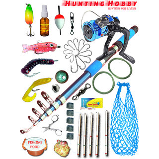 Fishing Rod,Reel,Accessories Complete Kit