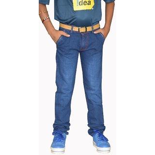 Tara Lifestyle Slim Fit Denim Jeans Pant For Kids-Boys Jeans Pant - -4001