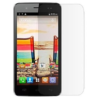 SNOOGG Pack of 6 Micromax Bolt A069 Full Body Tempered Glass Screen Protector [ Full Body Edge to Edge ] [ Anti Scratch ] [ 2.5D Round Edge] [HD View]  White