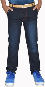 Tara Lifestyle Slim Fit Denim Jeans Pant For Kids-Boys Jeans Pant - -5001