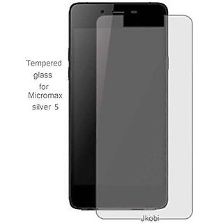 SNOOGG Pack of 9 Micromax Canvas Sliver 5 Full Body Tempered Glass Screen Protector [ Full Body Edge to Edge ] [ Anti Scratch ] [ 2.5D Round Edge] [HD View]  White