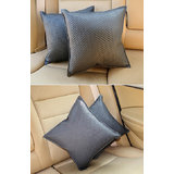 Car Vastra Cushion Kit - Black (Set Of 2 Pcs.)