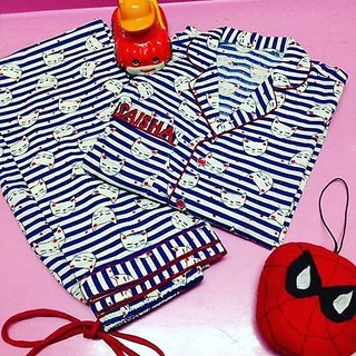 Cotton Night Suit For Kids