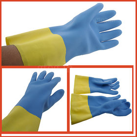 Kitchen Hand Gloves Household Gloves Long Cleaning Latex Gloves