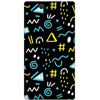 Super Cases Premium Designer Printed Case for Sony Xperia Z